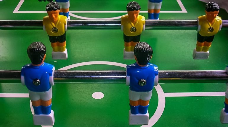 Sport Squad FX40 Foosball Table – Tabletop Design To Take The Fun