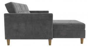 small sectional sleeper sofa Stigall Reversible Sleeper Sectional 2