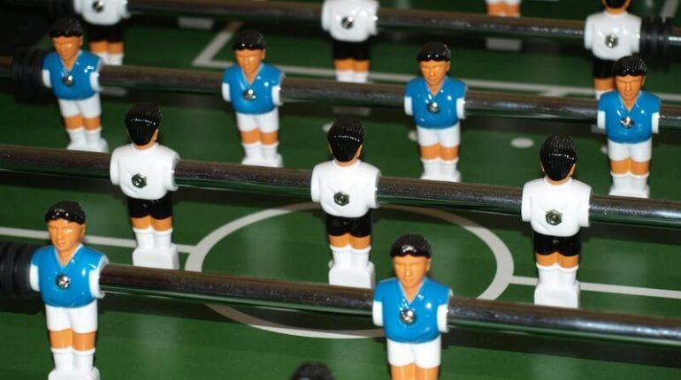 "Swivel Combo Table Pinty 48"" Professional Foosball Table"