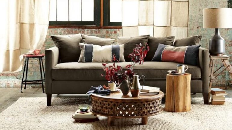 Mango Wood Coffee Table Review - Cotton Craft Pedestal Table