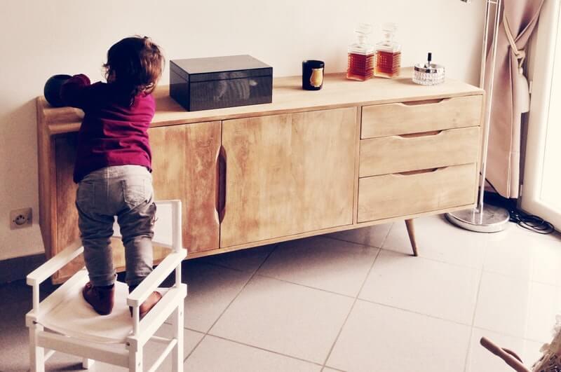 Wooden Storage Bench Simpli Home Warm Shaker in Multifunction