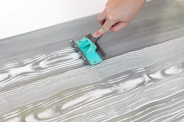 Paint Furniture Like Wood Stain